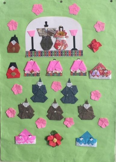 折り紙作品3月